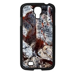 Wooden Hot Ashes Pattern Samsung Galaxy S4 I9500/ I9505 Case (black) by Simbadda