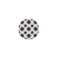Pearly Pattern Half Tone Background 1  Mini Magnets by Simbadda