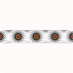 Pearly Pattern Half Tone Background Small Bar Mats by Simbadda