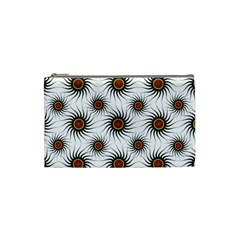 Pearly Pattern Half Tone Background Cosmetic Bag (small)  by Simbadda