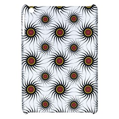 Pearly Pattern Half Tone Background Apple Ipad Mini Hardshell Case by Simbadda