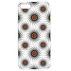 Pearly Pattern Half Tone Background Apple Iphone 5 Hardshell Case With Stand by Simbadda