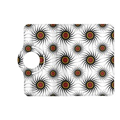 Pearly Pattern Half Tone Background Kindle Fire Hd (2013) Flip 360 Case by Simbadda