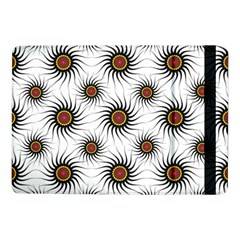 Pearly Pattern Half Tone Background Samsung Galaxy Tab Pro 10 1  Flip Case by Simbadda