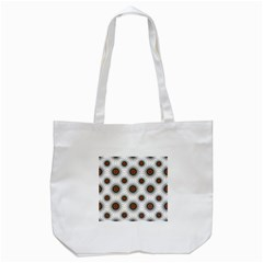 Pearly Pattern Half Tone Background Tote Bag (white) by Simbadda