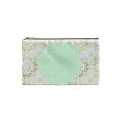 Seamless Abstract Background Pattern Cosmetic Bag (small)  by Simbadda