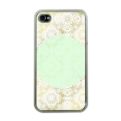 Seamless Abstract Background Pattern Apple Iphone 4 Case (clear) by Simbadda