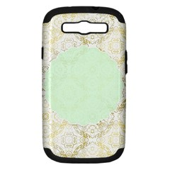 Seamless Abstract Background Pattern Samsung Galaxy S Iii Hardshell Case (pc+silicone) by Simbadda
