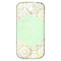Seamless Abstract Background Pattern Samsung Galaxy S3 S Iii Classic Hardshell Back Case by Simbadda