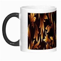 Loral Vintage Pattern Background Morph Mugs by Simbadda