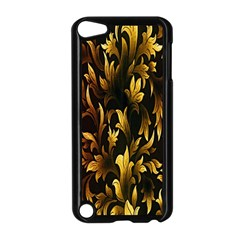 Loral Vintage Pattern Background Apple Ipod Touch 5 Case (black) by Simbadda