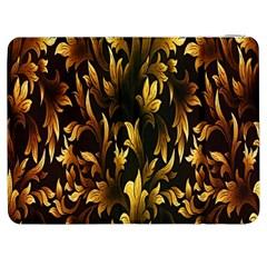 Loral Vintage Pattern Background Samsung Galaxy Tab 7  P1000 Flip Case by Simbadda