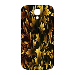 Loral Vintage Pattern Background Samsung Galaxy S4 I9500/I9505  Hardshell Back Case