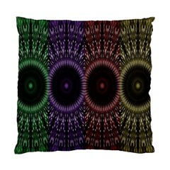 Digital Colored Ornament Computer Graphic Standard Cushion Case (two Sides) by Simbadda
