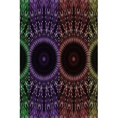 Digital Colored Ornament Computer Graphic 5 5  X 8 5  Notebooks by Simbadda