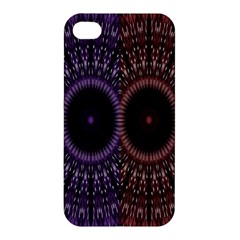 Digital Colored Ornament Computer Graphic Apple Iphone 4/4s Hardshell Case by Simbadda