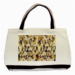 Floral Vintage Pattern Background Basic Tote Bag (two Sides) by Simbadda