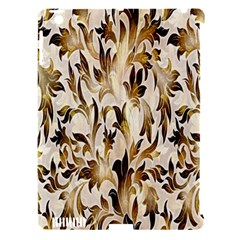 Floral Vintage Pattern Background Apple Ipad 3/4 Hardshell Case (compatible With Smart Cover) by Simbadda