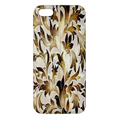 Floral Vintage Pattern Background Apple Iphone 5 Premium Hardshell Case by Simbadda
