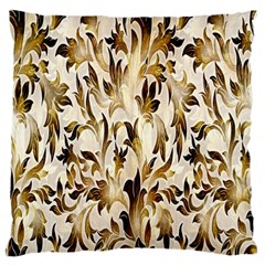 Floral Vintage Pattern Background Standard Flano Cushion Case (one Side) by Simbadda