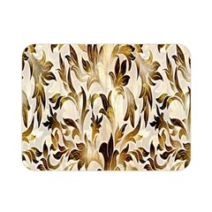 Floral Vintage Pattern Background Double Sided Flano Blanket (mini)  by Simbadda