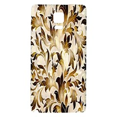 Floral Vintage Pattern Background Galaxy Note 4 Back Case by Simbadda