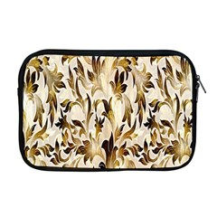 Floral Vintage Pattern Background Apple Macbook Pro 17  Zipper Case by Simbadda