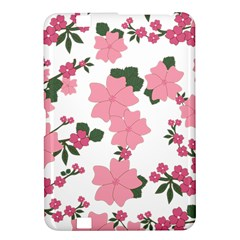 Vintage Floral Wallpaper Background In Shades Of Pink Kindle Fire Hd 8 9  by Simbadda