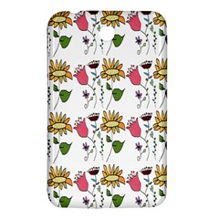 Handmade Pattern With Crazy Flowers Samsung Galaxy Tab 3 (7 ) P3200 Hardshell Case  by Simbadda