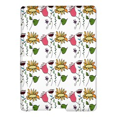 Handmade Pattern With Crazy Flowers Samsung Galaxy Tab S (10 5 ) Hardshell Case  by Simbadda