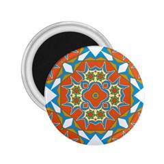 Digital Computer Graphic Geometric Kaleidoscope 2 25  Magnets by Simbadda