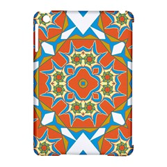 Digital Computer Graphic Geometric Kaleidoscope Apple Ipad Mini Hardshell Case (compatible With Smart Cover) by Simbadda