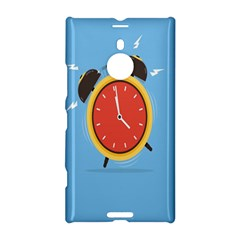 Alarm Clock Weker Time Red Blue Nokia Lumia 1520 by Alisyart