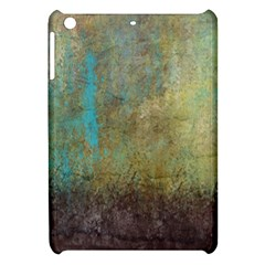 Aqua Textured Abstract Apple Ipad Mini Hardshell Case by theunrulyartist