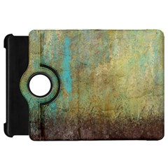 Aqua Textured Abstract Kindle Fire Hd 7  by theunrulyartist