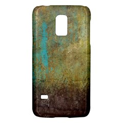 Aqua Textured Abstract Galaxy S5 Mini by theunrulyartist