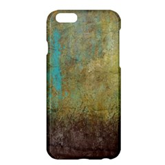 Aqua Textured Abstract Apple Iphone 6 Plus/6s Plus Hardshell Case by theunrulyartist