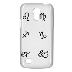 Set Of Black Web Dings On White Background Abstract Symbols Galaxy S4 Mini by Amaryn4rt