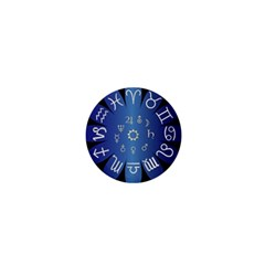 Astrology Birth Signs Chart 1  Mini Buttons by Amaryn4rt