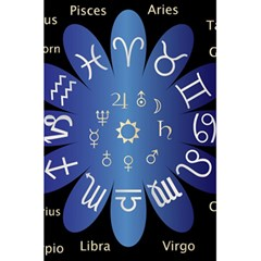 Astrology Birth Signs Chart 5 5  X 8 5  Notebooks by Amaryn4rt