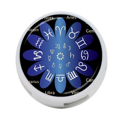 Astrology Birth Signs Chart 4 Port Usb Hub (two Sides)  by Amaryn4rt