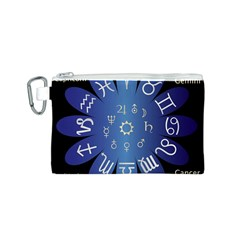 Astrology Birth Signs Chart Canvas Cosmetic Bag (s) by Amaryn4rt