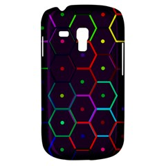 Color Bee Hive Pattern Galaxy S3 Mini by Amaryn4rt