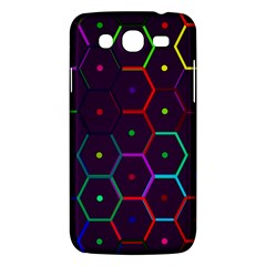 Color Bee Hive Pattern Samsung Galaxy Mega 5 8 I9152 Hardshell Case  by Amaryn4rt