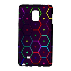 Color Bee Hive Pattern Galaxy Note Edge by Amaryn4rt