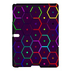 Color Bee Hive Pattern Samsung Galaxy Tab S (10 5 ) Hardshell Case  by Amaryn4rt
