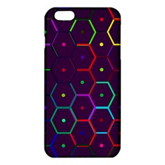 Color Bee Hive Pattern Iphone 6 Plus/6s Plus Tpu Case by Amaryn4rt