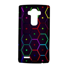 Color Bee Hive Pattern Lg G4 Hardshell Case by Amaryn4rt