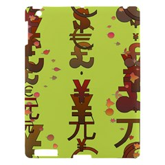Set Of Monetary Symbols Apple Ipad 3/4 Hardshell Case by Amaryn4rt