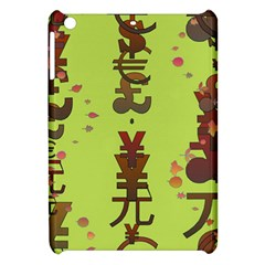 Set Of Monetary Symbols Apple Ipad Mini Hardshell Case by Amaryn4rt